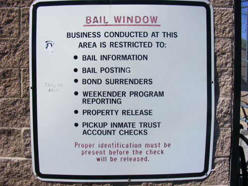 Inmate Search Las Vegas - Bail Window Rules