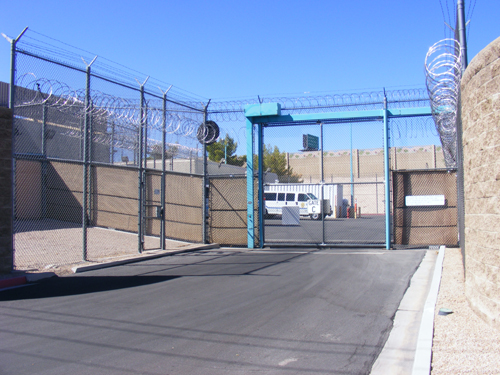 Entrance Gate C - Las Vegas Detention and Enforcement Center