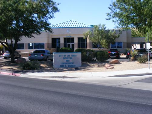 Street View of the City Las Vegas Detention and Enforcement Center