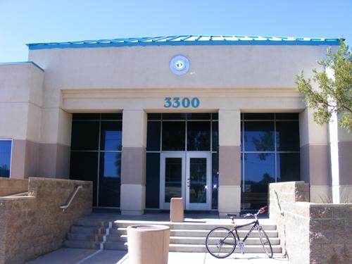 Parking lot view of Inmate Search Las Vegas Detention and Enforcement Center 3300 E. Stewart Las Vegas, NV